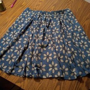 Lula roe Madison skirt. Never worn. 3x
